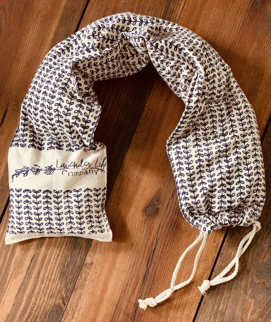 Lavender-Scented Neck Wrap & Eye Wrap