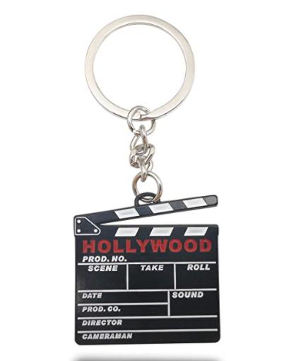 Clapboard Keychain