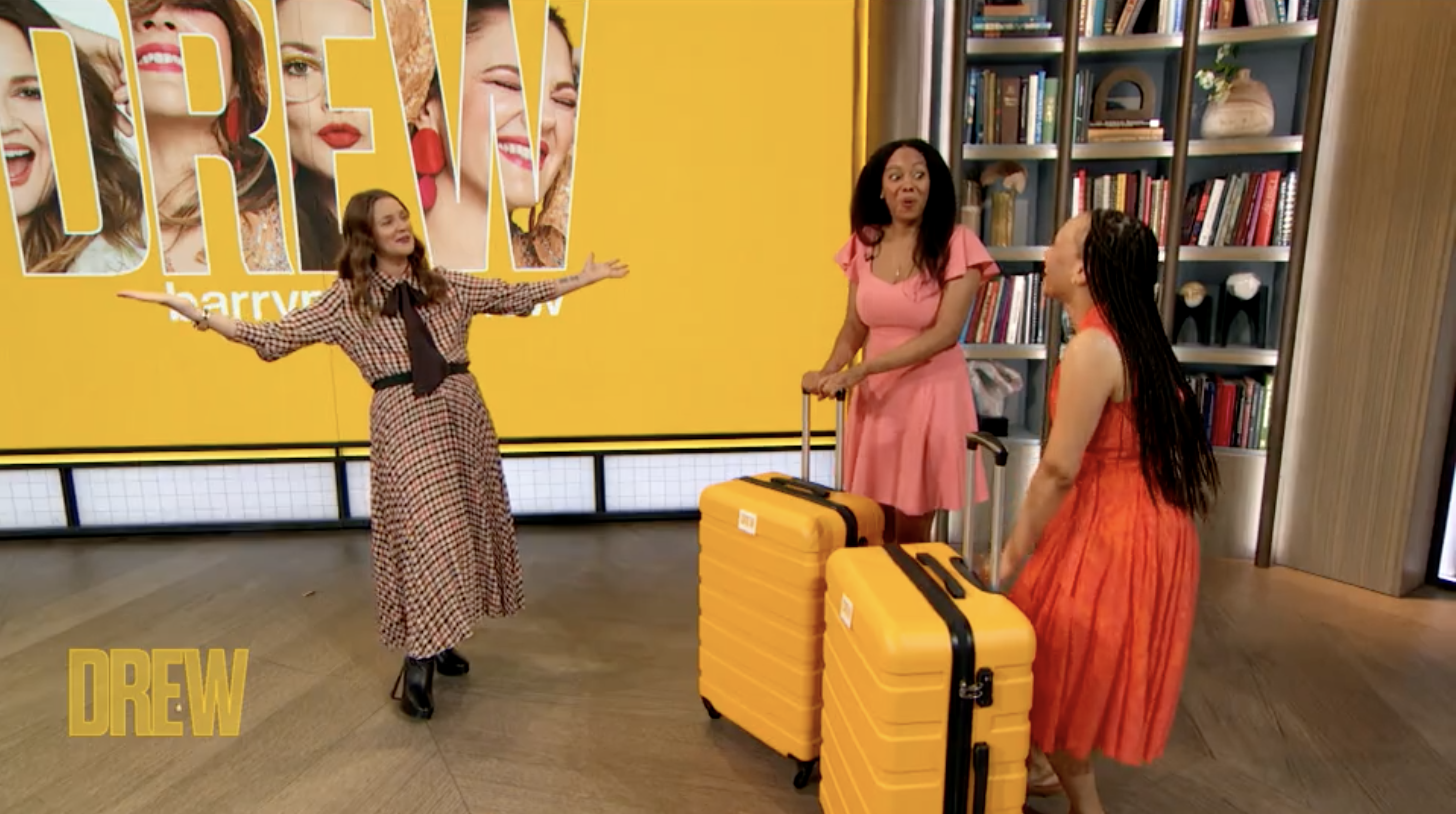Alicia and Tiffany on The Drew Barrymore Show!