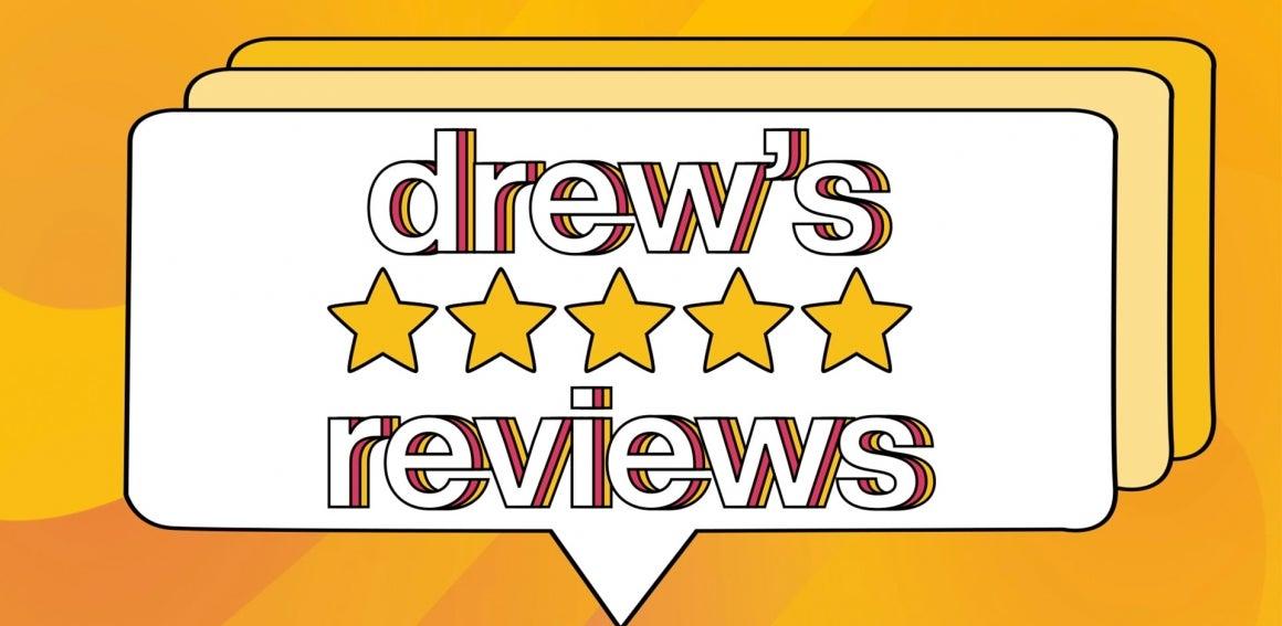 drew's reviews logo
