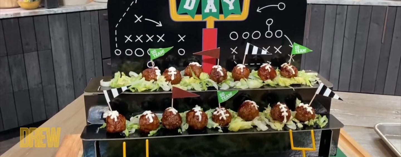 Meatball footballs