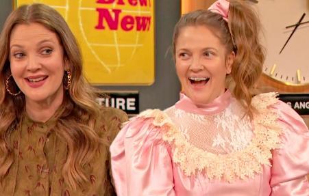 Never Been Kissed's Josie Grossie Joins Drew to Practice Delivering News | Drew's News