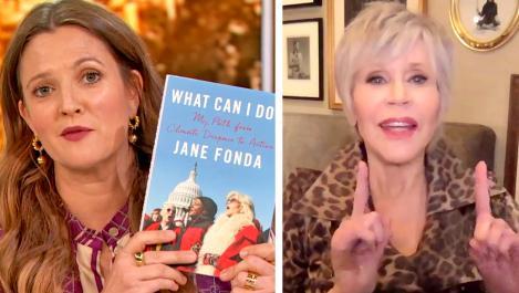 Jane Fonda and Drew