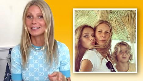 Gwyneth and her kids