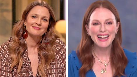 Julianne Moore and Drew
