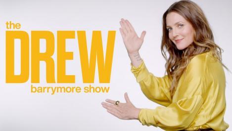 Drew with her logo