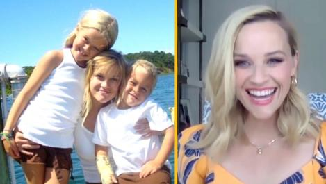 Reese and her kids