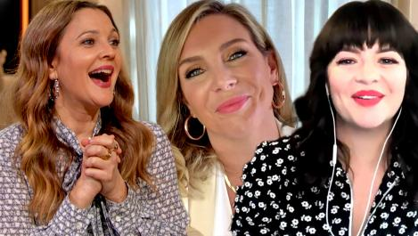 June Diane Raphael and Drew and Casey Wilson