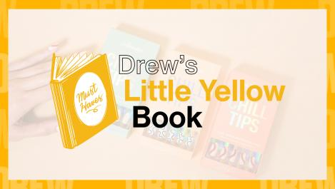 little yellow book logo with Chill House Chill Tips