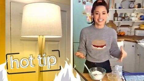Molly Baz tutorial on making homemade sprinkles