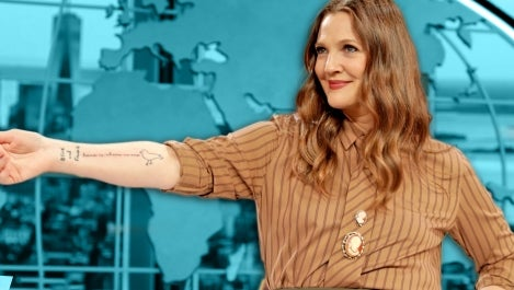 drew barrymore tattoo the making of