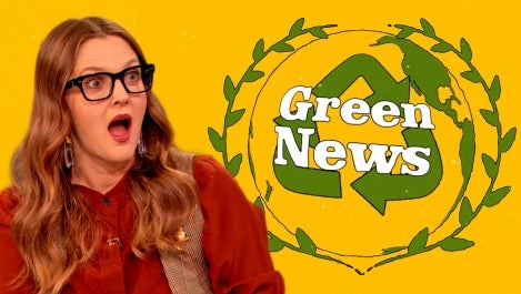 drew barrymore drew's news green news