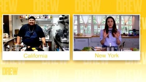 Drew + Chef Alvin Cailan