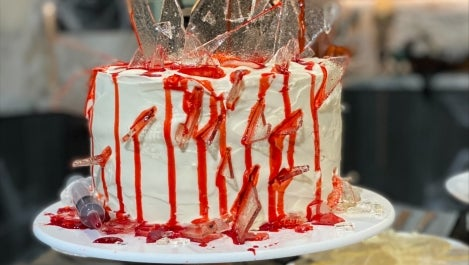 Slasher cake