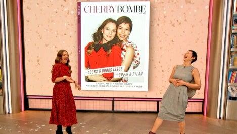 Drew, Cherry Bombe cover, and Chef Pilar Valdes