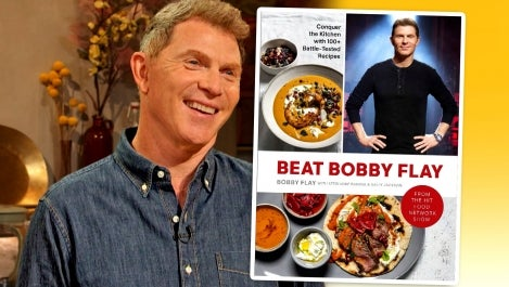 Bobby Flay and New Cookbook