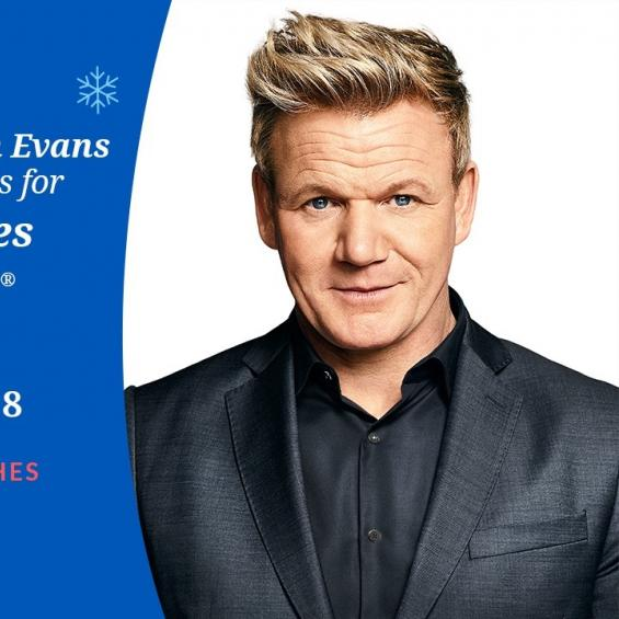 Gordon Ramsey Make A Wish Event