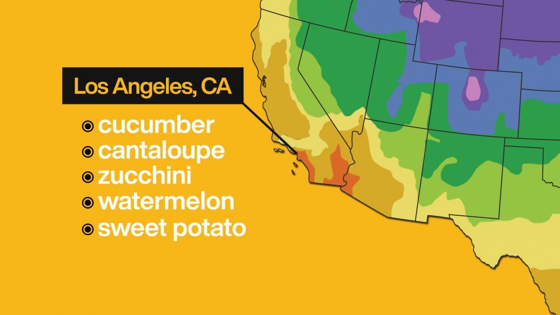 LA food map