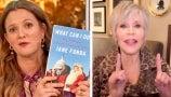 Jane Fonda and Drew Discuss Swearing Off Men