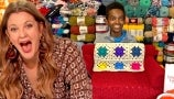 Drew's News: Jonah Larson Debuts His Crochet Kitty Couch