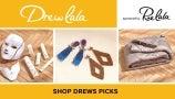 Drew La La Deals from Rue La La: Melange Weighted Compression Blankets, Deepa Gurnani Earrings