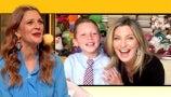 Drew Celebrates 11-Year-Old Zach Hartman Who Donates Books to Kids