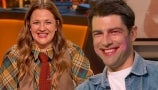 Max Greenfield Gets a Makeup Tutorial from Drew