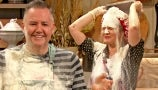 Drew and Ross Mathews Rage Bake for Election Day