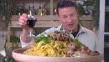 Jamie Oliver's Surf and Turf Pasta Is the New Star of Dinner | Drew's Cookbook Club