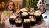 Duff Goldman Shows Drew How to Make Peppermint Cookie Crust Cupcakes