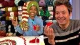 Jimmy Fallon Is Stunned by Jonah Larson's Review of 5 More Sleeps 'til Christmas