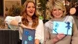 Martha Stewart Teaches Drew the Secrets of Gift-Wrapping