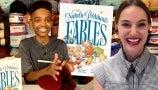 Jonah Larson Loved Reading Natalie Portman's Children's Book to His Little Sister