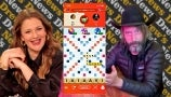 Tom Green and Drew Are in the Midst of an Intense Scrabble GO Game | Drew's News