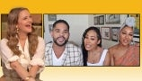 Drew Discovers Meagan Good and Her Cousin Dijon Are in Her Favorite Dance Class