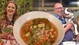 Michael Symon Teaches Drew the Delicious Secrets of His Easy Vegetable Soup Recipe