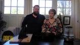 Ben and Erin Napier's DIY Vinyl Record Bookends