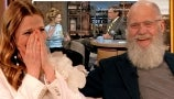 David Letterman Rewatches the Iconic Moment Drew Barrymore Flashed Him on TV 25 Years Ago