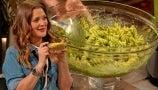 Drew Teaches How to Cook a Delicious Pesto Chickpea Pasta Dish