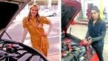 Drew Learns to Jump-Start a Car from Inspiring Mechanic | Wildflower