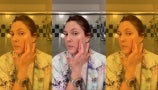 Drew Shows How to Use Highlighter for the Perfect Glow