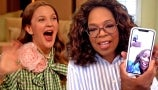 Drew Loses It When Oprah FaceTimes Her Best Friend Gayle King
