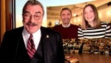 Tom Selleck Surprises a Family Helping Restaurants in NYC Survive the Pandemic   Drew-Gooder