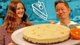 Danny Seo Teaches Drew How to Make Delicious No-Bake Vegan Cheesecake