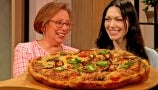 TikTok's Brunch with Babs, Laura Prepon and Drew Cook the Best Bacon and Gruyere Frittata