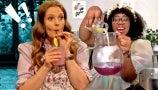 TikTok's Black Forager Shows You How to Make Violet Syrup Pink Lemonade
