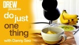 Danny Seo Shows How to Transform Banana Peels into Delicious Tea   Do Just One Thing
