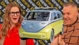 Volkswagen's Launching a Fully Electric Minibus | Drew's Extra News