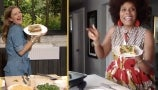 Tabitha Brown Shows Drew How to Make Her Vegan Spinach Grilled Cheese