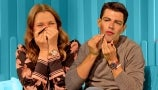 Max Greenfield Chats With Drew While Giving Himself a Beautiful Makeup Makeover